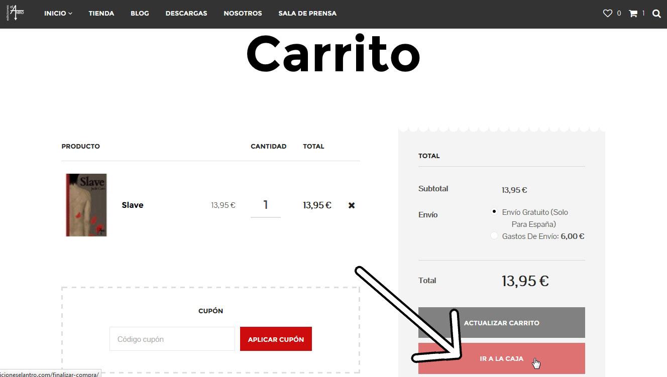 Cómo comprar en nuestra web 3
