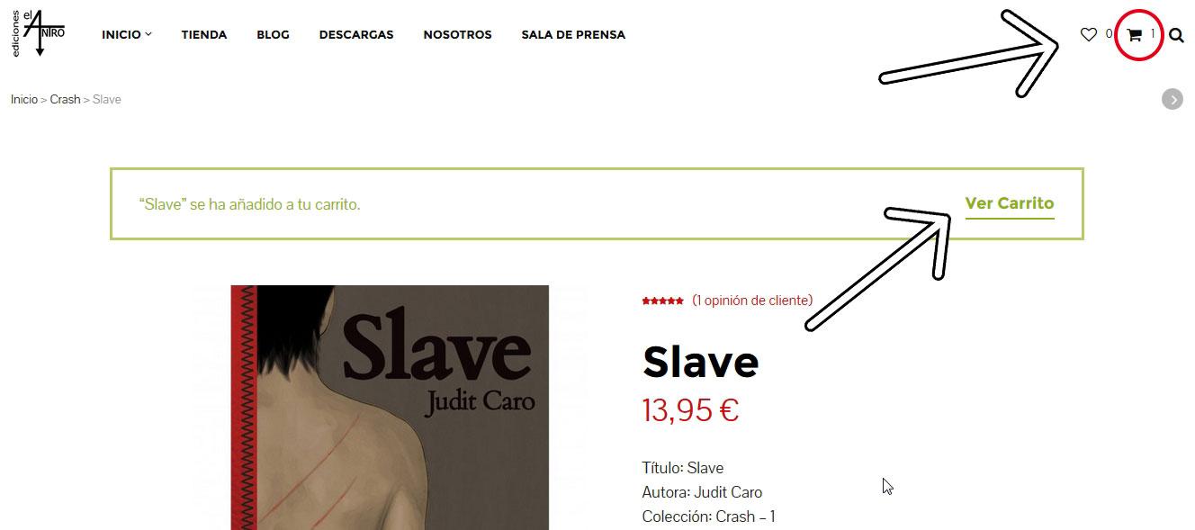 Cómo comprar en nuestra web 2